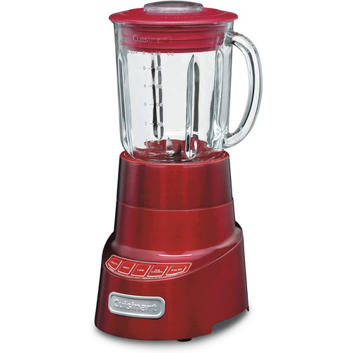Cuisinart SPB-600 SmartPower Deluxe Die Cast Blender, Metallic Red (Certified Refurbished)