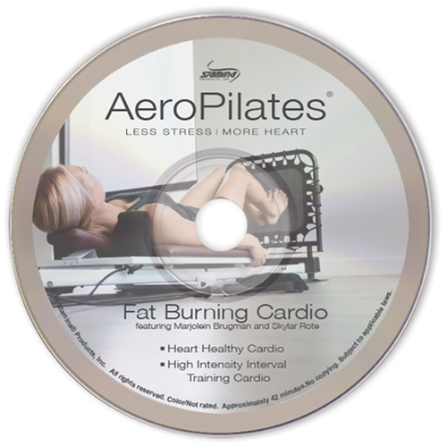 Stamina AeroPilates Fat Burning Cardio DVD (05-9134D)