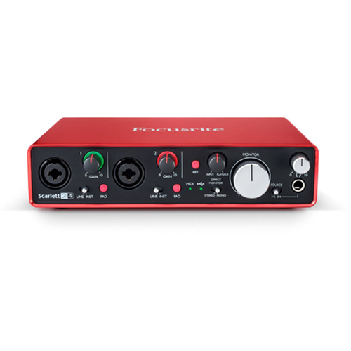 Scarlett 2i4 USB Audio Interface (2nd Generation)