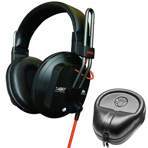 Fostex Professional Studio Headphones - Closed w/ Slappa HardBody Headphone Case