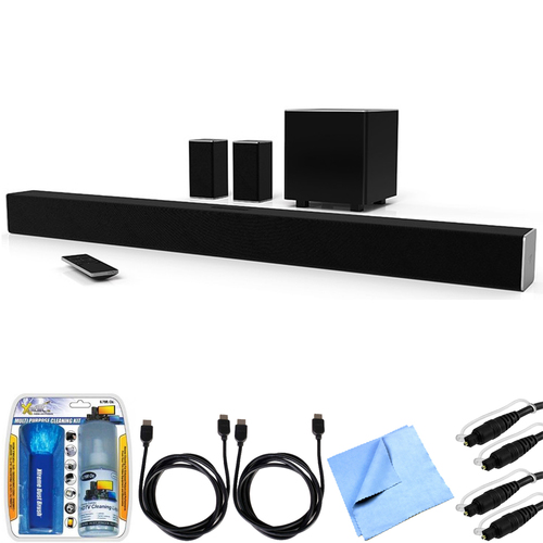 Vizio SB3851-D0 SmartCast 38` 5.1 Sound Bar System w/ Essential Accessory Bundle