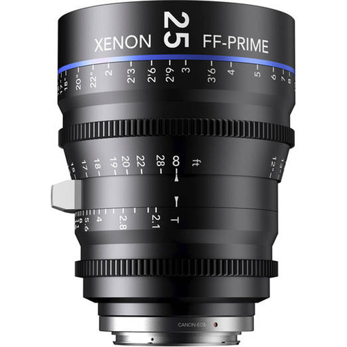 Schneider Kreuznach 25MM Xenon Full Frame 4K Prime XN 2.1 / 25 Feet Lens for Sony E Mounts
