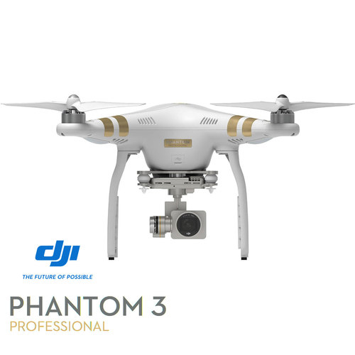 DJI Phantom 3 Professional Quadcopter Drone 4K Camera 3-Axis Gimbal - Refurbished