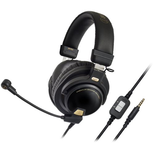 Audio-Technica Closed-Back Premium Gaming Headset with 6-inch Boom Microphone (ATH-PG1)