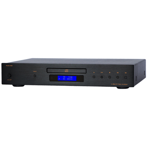 Music Hall C-DAC15.3 3-Input DAC CD Player with Remote - Black