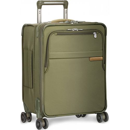 Briggs & Riley Baseline Collection 19` Commuter Expandable Luggage Spinner (Olive) - OPEN BOX