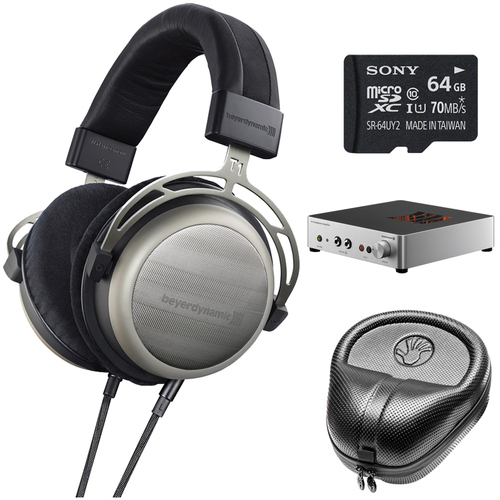 BeyerDynamic T1 Audiophile Stereo Headphones Bundle
