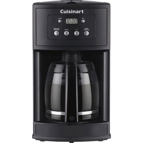 Cuisinart DCC-500 12-Cup Programmable Black Coffeemaker - Factory Refurbished