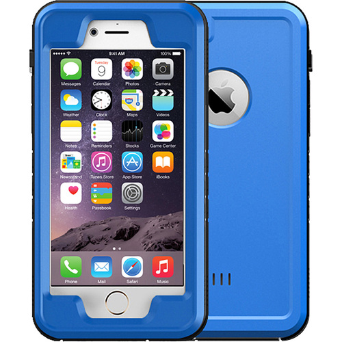 Urge Basics Blue 4.7` Shock Resistant Waterproof Case for Apple iPhone 6/6S
