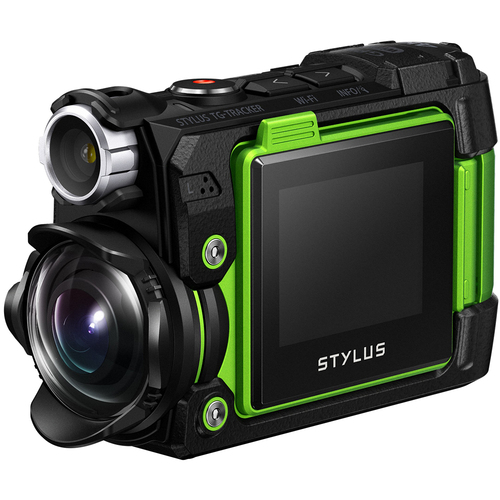 Olympus Stylus TG-Tracker 4K Action Cam Waterproof/Shockproof/Freezeproof Grn - OPEN BOX