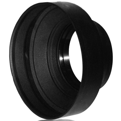 Agfa 58mm Heavy Duty Rubber Lens Hood - APSLH58