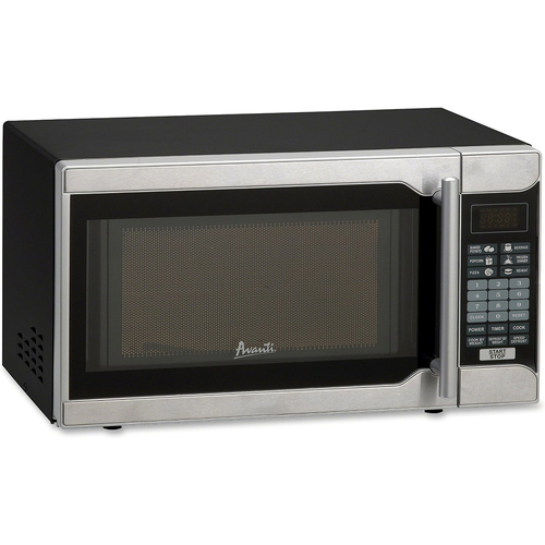 Avanti MO7103SST 18` 0.7 cu. ft. Counter Top Microwave Oven, Stainless Steel