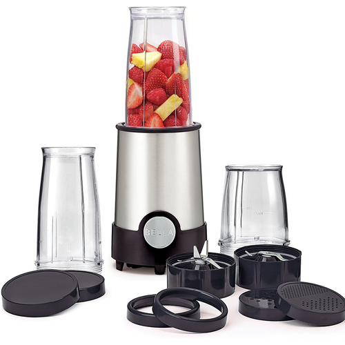 Sensio Bella 12-Piece Rocket Blender in Black - 13586