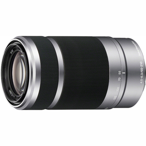 Sony SEL55210 - 55-210mm Zoom E-Mount Lens (Silver)