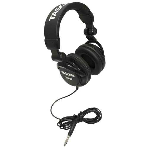TH-02 Closed-Back Professional Headphones (Black) - TH02