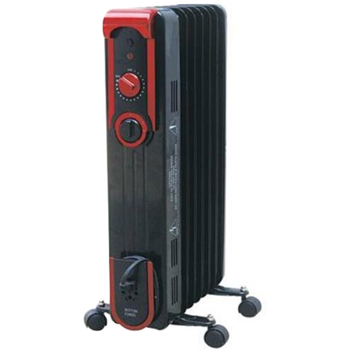 World Marketing Comfort Glow 7-Fin Oil Filled Radiant Heater - EOF261