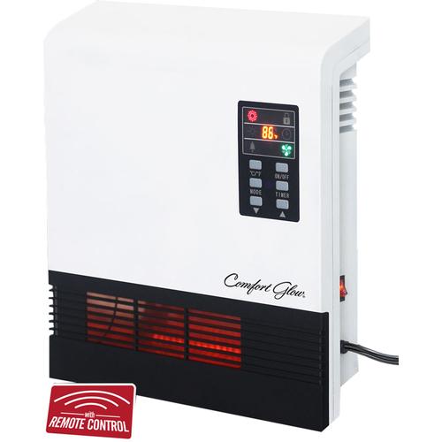 Comfort Glow Glow Quartz 1500w Gfi Turbo Fan Wall Heater