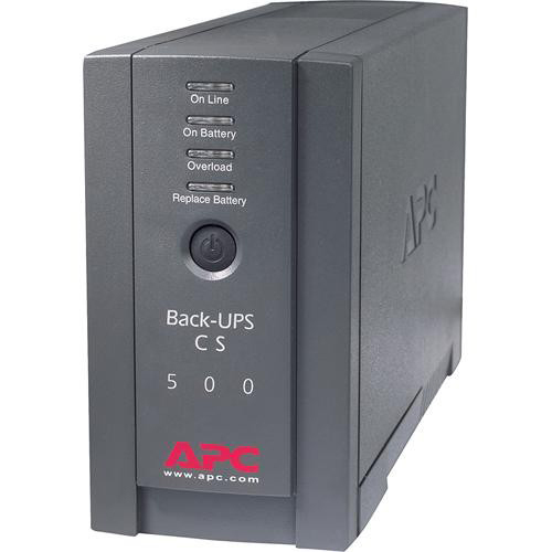APC Back-UPS 500VA 300W in Black - BK500BLK