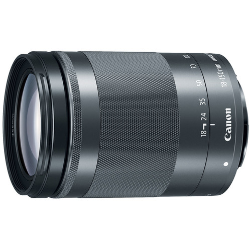 Canon EF-M 18-150 f/3.5-6.3 IS STM Zoom Lens for EOS M Series Cameras - Graphite