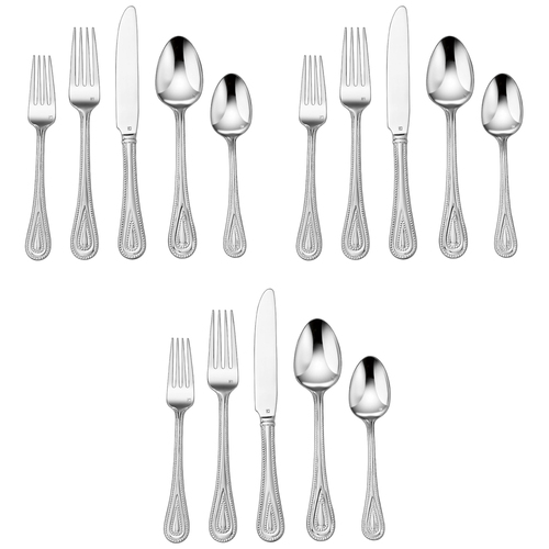 3-Pack of 20-Piece Elite Flatware Set, (Fampoux) CFE-01-FP20