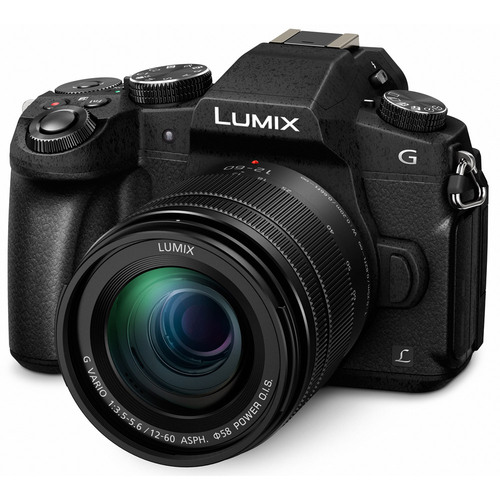 Panasonic LUMIX G85 4K Mirrorless Interchangeable Lens Camera Kit with 12-60mm Lens