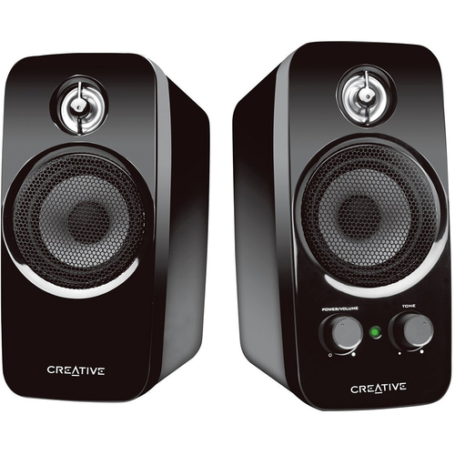 Creative Labs Inspire T10 E/F Speaker System with BasXPort Technology - 51MF1601AA000