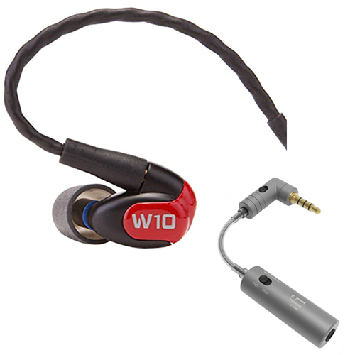 Westone W10 Premium Single Driver In-Ear Monitor Noise Isolating Headphones w/ iEMATCH