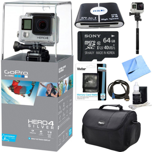 Beach Camera HERO4 Silver Edition Action Camera