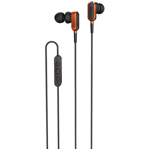 KEF M-Series M100 Earbuds - Orange
