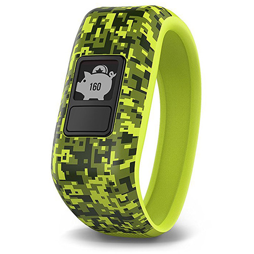 Garmin Vivofit Jr. Activity Tracker for Kids, Regular Fit - Digi Camo (010-01634-01)