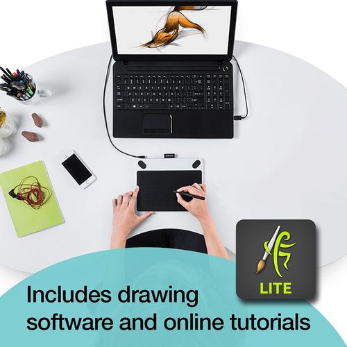 Wacom Intuos Draw CTL490DW Digital Drawing & Graphics Tablet | BuyDig