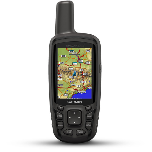 Garmin GPSMAP 64SC Rugged Bluetooth Handheld GPS with Camera and a 1-Year BirdsEye Subscription