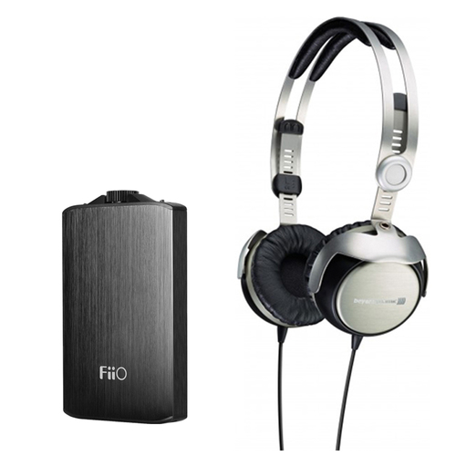 BeyerDynamic T51i Portable Tesla Hi-Fi Headphones Apple-Certified Remote & Mic w/Bundle