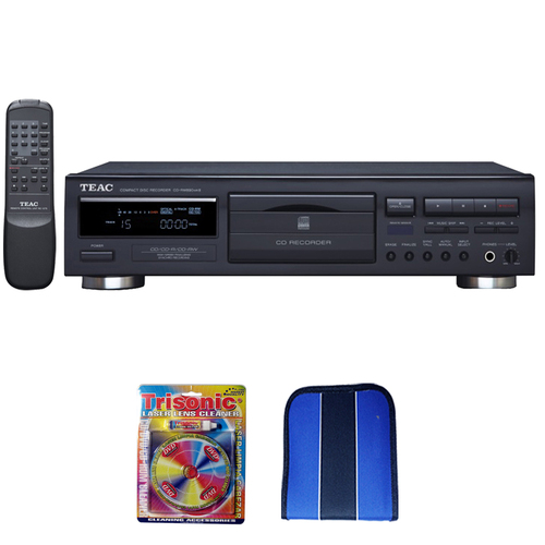 Teac CD Recorder w/ Remote-Essentials Bundle