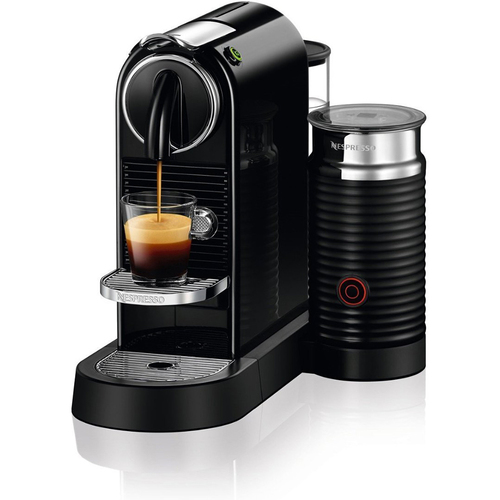 Nespresso CitiZ & Milk Espresso Maker (Limousine Black) - OPEN BOX