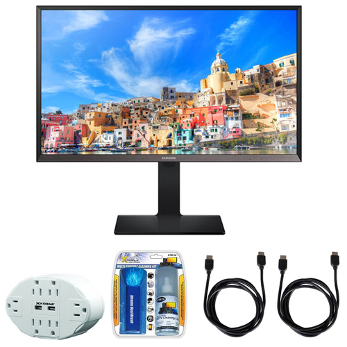 Samsung 31.5` Screen LCD Monitor U32E850R with Accessories Bundle