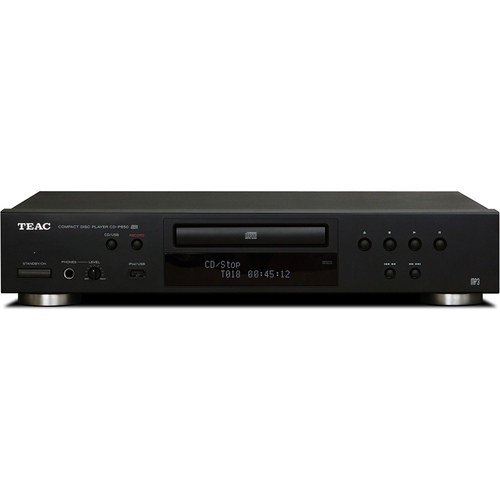 Teac CD-P650-B Compact Disc Player with USB and iPod Digital Interface Blk - OPEN BOX