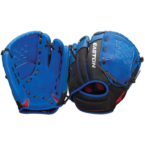 Easton ZFX1000RYRD - Z-Flex Right Hand Throw 10` Youth Ball Glove in Blue - A130634