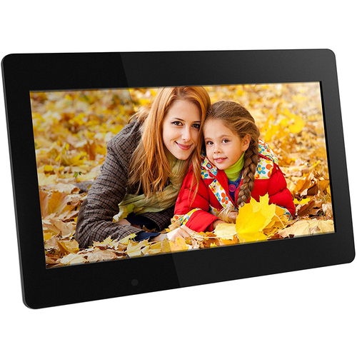 Aluratek 18.5` Digital Photo Frame with 4GB Built-in Memory - ADMPF118F