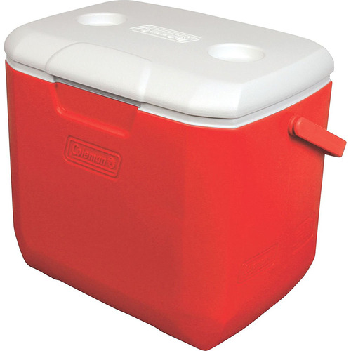 Coleman 30 qt Cooler 92 Red