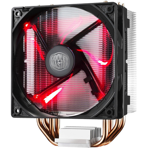 Cooler Master Hyper 212 LED CPU Cooler w/ PWM Fan, Four Direct Contact Heat Pipes, Red LEDs
