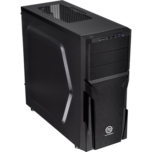 Thermaltake Versa H21 CA-1B2-00M1NN-00 Mid-tower Computer Chassis (Black)