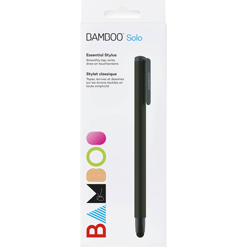 Wacom Bamboo Solo 4th Gen Stylus (Black) - CS190K