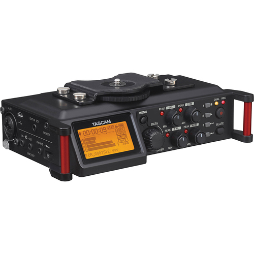 Tascam Portable Recorder for DSLR - DR-70D - OPEN BOX