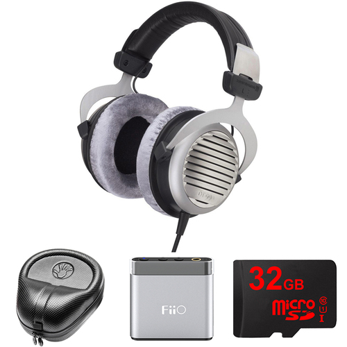 BeyerDynamic DT 990 Premium Headphones 250 OHM - 481807 w/ FiiO Amp. Bundle