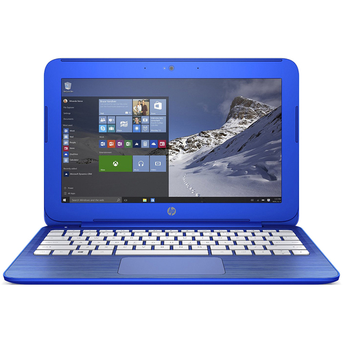 Hewlett Packard Stream 13.3 inch Laptop with Intel N3050, 2GB RAM, 32GB SSD - Refurbished