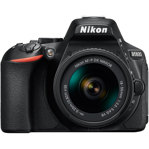 Nikon D5600 24.2MP DX-Format DSLR Camera w/ AF-P 18-55mm f/3.5-5.6G VR Lens Kit #3