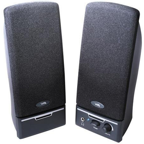 Cyber Acoustics Two Piece Amplified Computer Speaker System (CA-2012)