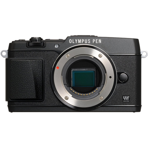Olympus PEN E-P5 16MP Compact System Camera (Black)(Body Only) - Refurbished