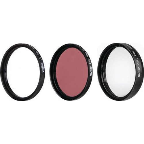 95mm UV, Polarizer & FLD Deluxe Filter kit (set of 3 + carrying case)